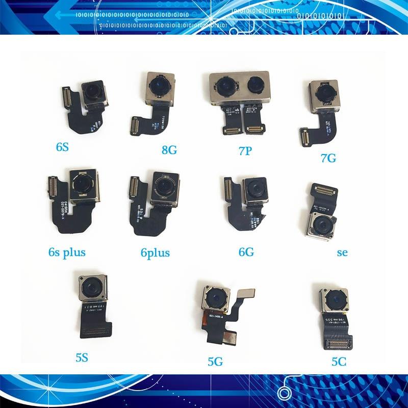 Original 100% New Back Camera Rear Main Lens For Iphone 5 SE 5C 6 6Plus 6S 6S Plus 7 7Plus 8 8Plus Flex Cable Ribbon Rear Camera