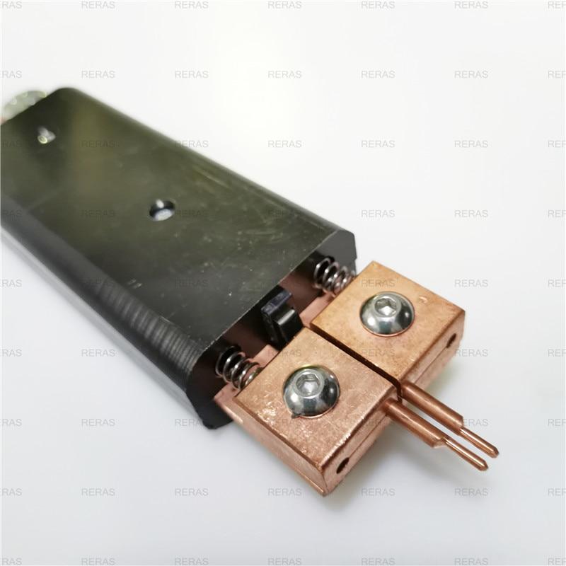 Tools : Integrated hand-held spot welding pen Automatic trigger Built-in switch one-hand operation spot welder welding machine