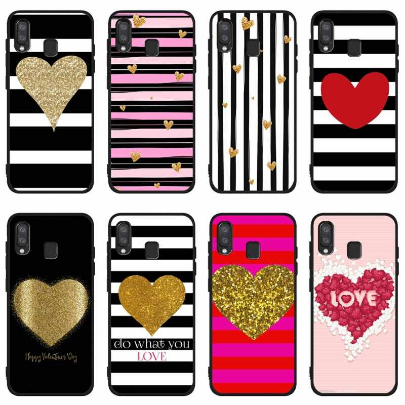 Love Stripes Wallpaper Soft Case For Samsung A10 A30 A40 A50 A70 M10 M20 A5 A7 A9 2016 2017 2018 Silicone Coque Case Phone Case Covers Aliexpress