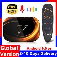 VONTAR X3 TV Box 8K Max 4GB 128GB Android 9 9.0 Amlogic S905X3 TVBox 32GB 64GB ROM 1000M Dual Wifi 4K 60fps Youtube Set top Box