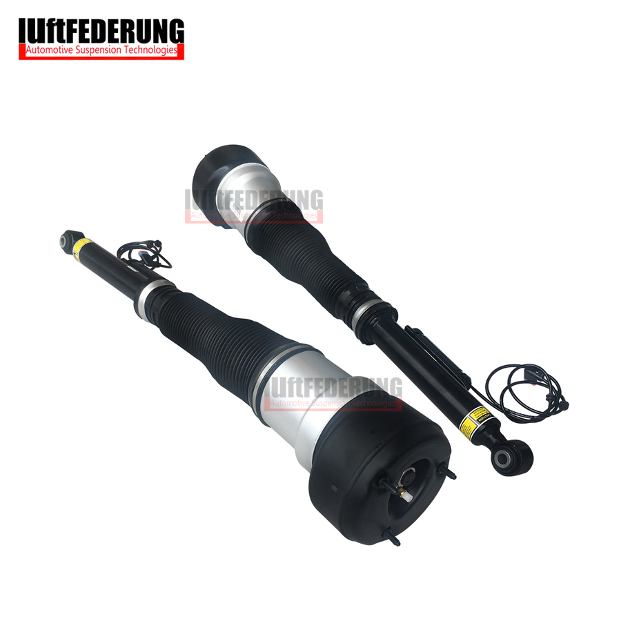 Luftfederung 1*Pair Air Spring Rear Air Suspension Shock Absorber Air Strut Assembly Fit Mercedes W221 2213205513(5613)|assembly| |  - title=