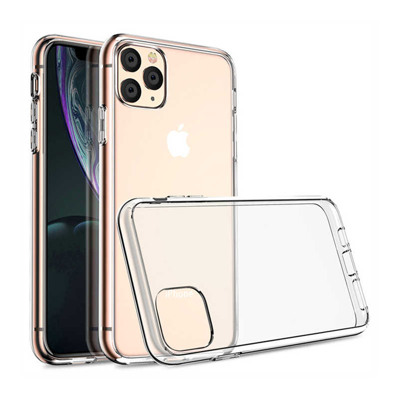 HD Clear Zachte Rand Acryl Cover Case voor Iphone 11 Pro Max Xs XR X 6 6S 7 8 Plus anti-kras Mobiele Telefoon Tas Capa