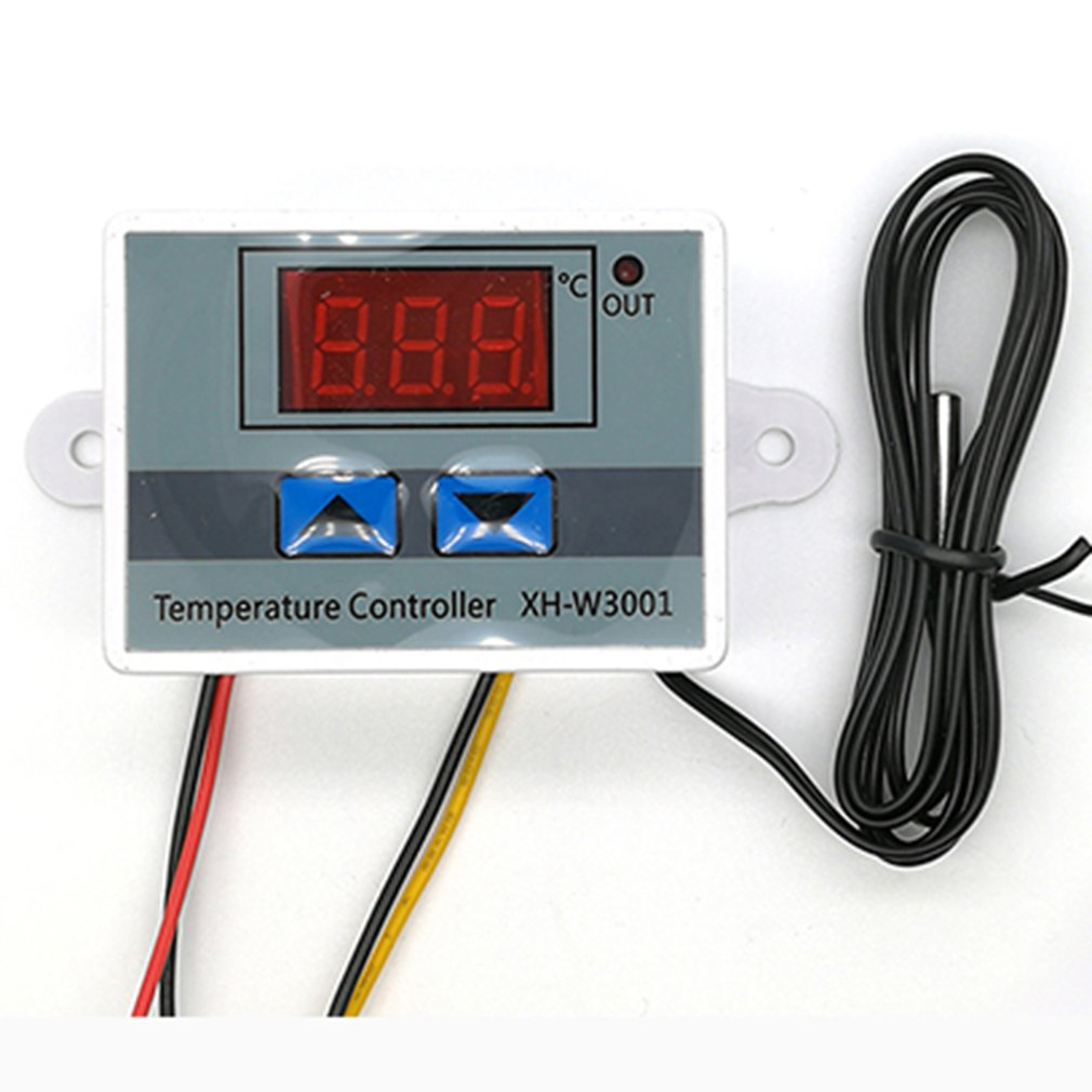 Temperature Controller Thermal Control Switch Multifunction Digital Temperature Controllers Waterproof Probe Accessories