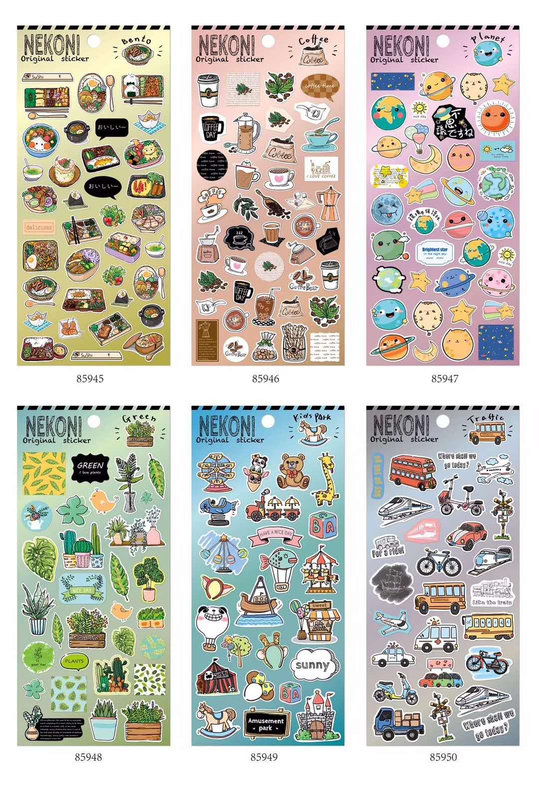 20 наборов милые наклейки из мультфильмов серии дневник планировщик декоративные мобильные наклейки DIY Ремесло Скрапбукинг наклейки