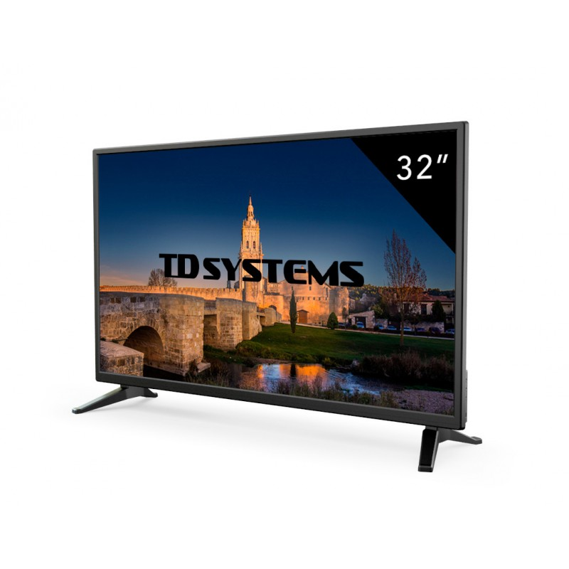 32 Inch TVs TD Systems K32DLM7H [Ship from Spain  2 year warranty] 3x HDMI  DVB T2. LED Television     - title=