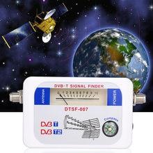 Receptor portátil da tevê do localizador do sinal de SF-007W dvb-t DVB-T2 digitas do satélite com ponteiro da bússola