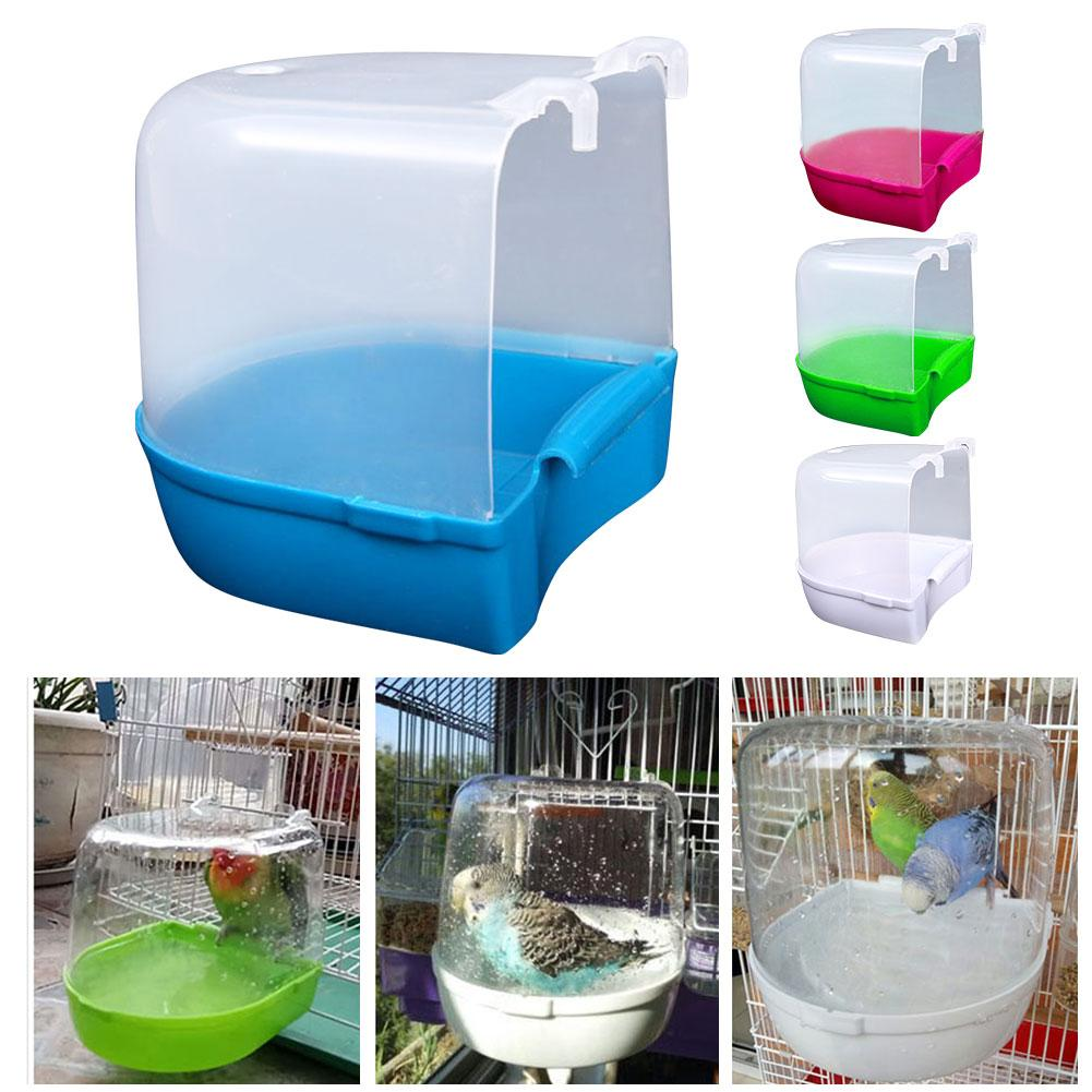 Parrot Bathing Outdoor Bathing Bird Bathing Basin Bath Bird Cage Parrot Supplies For Small Birds Canary Budgerigar