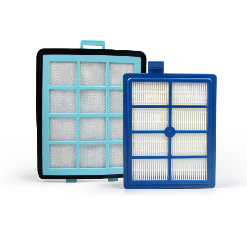 1x Exhaust Vents HEPA Filter +1x Intake Vents HEPA Filter+3x Cotton For FC8760 FC8761 FC8764 FC8766 FC8767 Vacuum Cleaner Parts