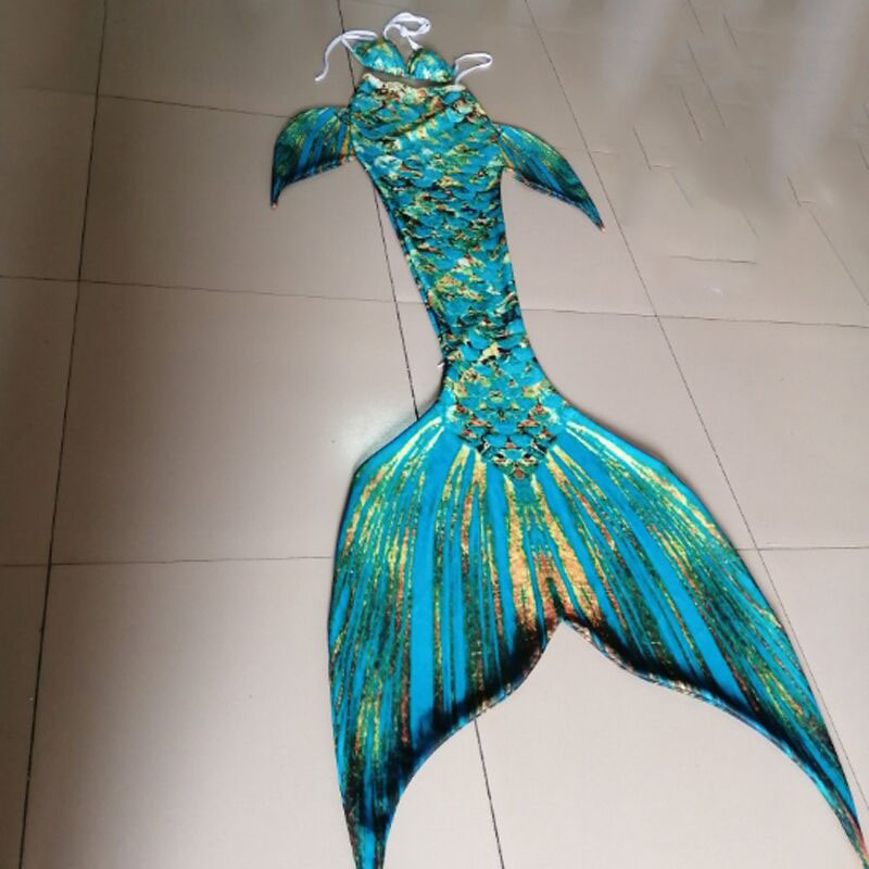 2020 New Mermaid Tail For Adult Women Girls Swimwear Summer Beach Vacation Mermaid Tail With Monofin Swimming Cospaly Costumes