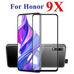 Szkło hartowane na cześć 9X dla Huawei Honor 9 X ochraniacz ekranu Honor9x ochronne Huawei Hono X9 Onor Honer Huawei zbroja Huawei