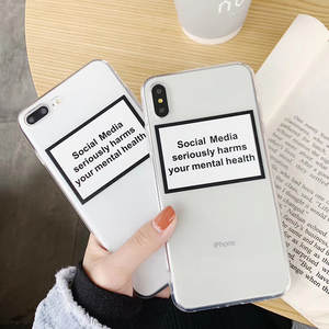 Social Media Seriously Harms Your Mental Health Case For Huawei Honor 20S 20i 10i 10