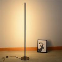 Modern Living Room LED Floor Lamp Bedroom Lighting Standing Lamps Simple Line Lamp Beside The Sofa Decorative Light Fixtures