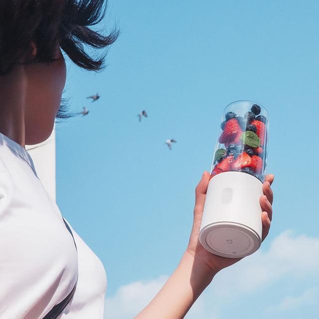 Original Xiaomi Mijia Electric Blender Mixer Portable Juicer Rechargeable Fruit And Vegetable Blender Miniature Food Processor 4
