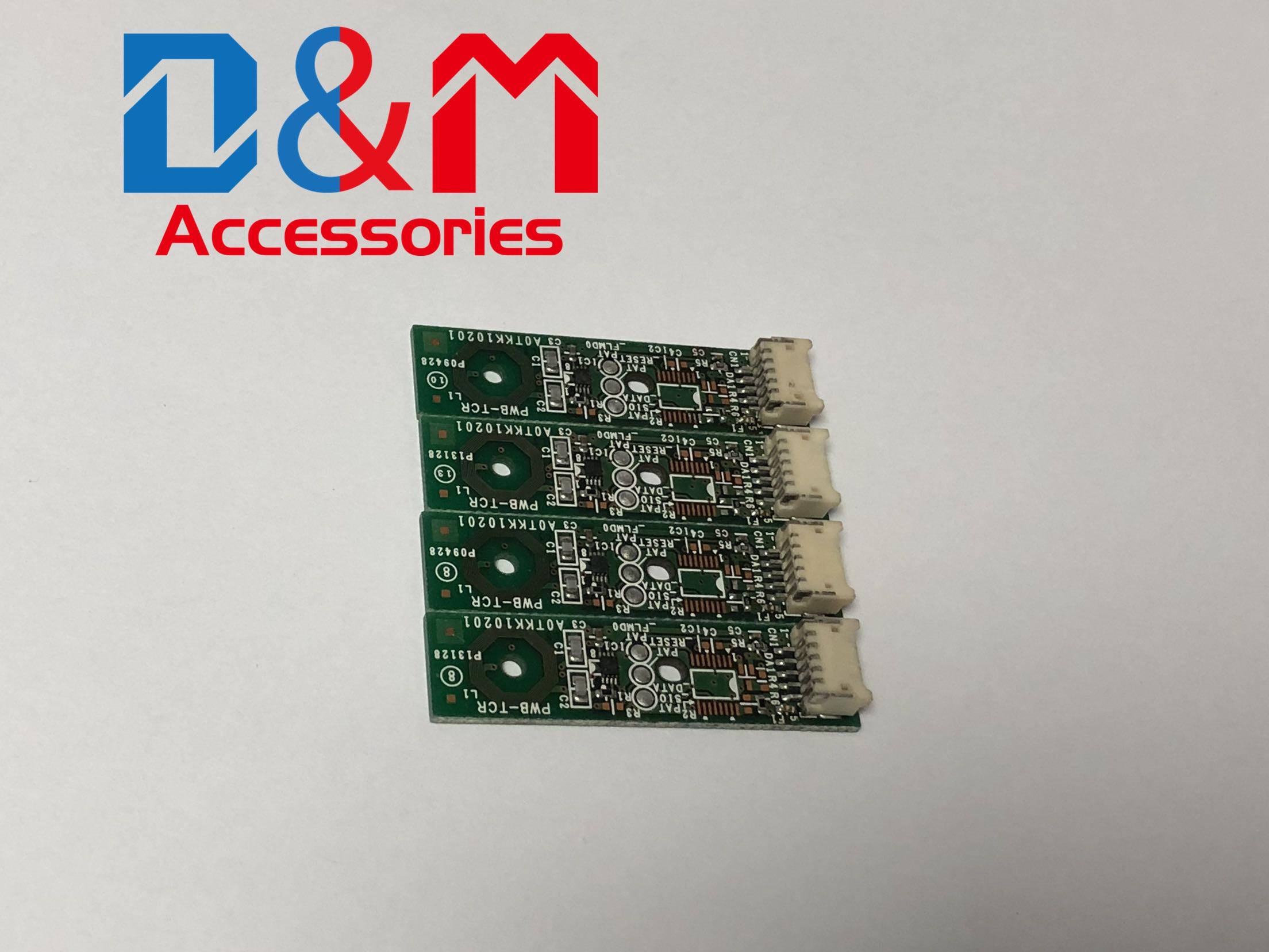 8PCs Sviluppatore di Colore Circuito Integrato di Risistemazione Unità DV-311 DV512 per Konica Minolta Bizhub C220 C280 C360 7722 7728 C224 C284