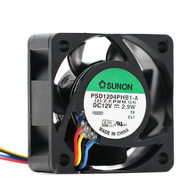 original sunon PSD1204PHB1-A (2).Z.F.GN 12V 2.9W 4015 40mm 4cm case cooling fan