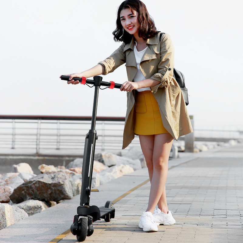 HX X6 Folding Electric Scooter Two Wheel Electric Scooters Mini Protable Backpack E-Scooter Electric Bike Ebike                  (32)