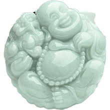 KYSZDL Natural A Grade jade hand carved Buddha pendants women Lucky jade necklace pendant Sweater chain jewelry gifts natural red stone hand carved pendants red jade sweater chain buddha pendant chinese style necklace jewelry collection of gifts