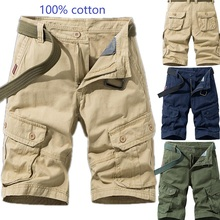 Mens Military Cargo Shorts 2020 Beach shorts Army Camouflage