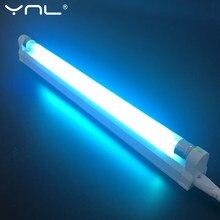 Lampe à Quartz stérilisateur à lumière UV 220V 110V 6W 8W T5 Tube Ozone Ultraviolet germicide lumière bactéricide lampe désinfection déodeur