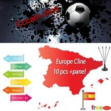 Самый стабильный Cccam cline 1 год для Испании Европа CCCAM DVB-S2 Европа cline бесплатно Sat V8 V7