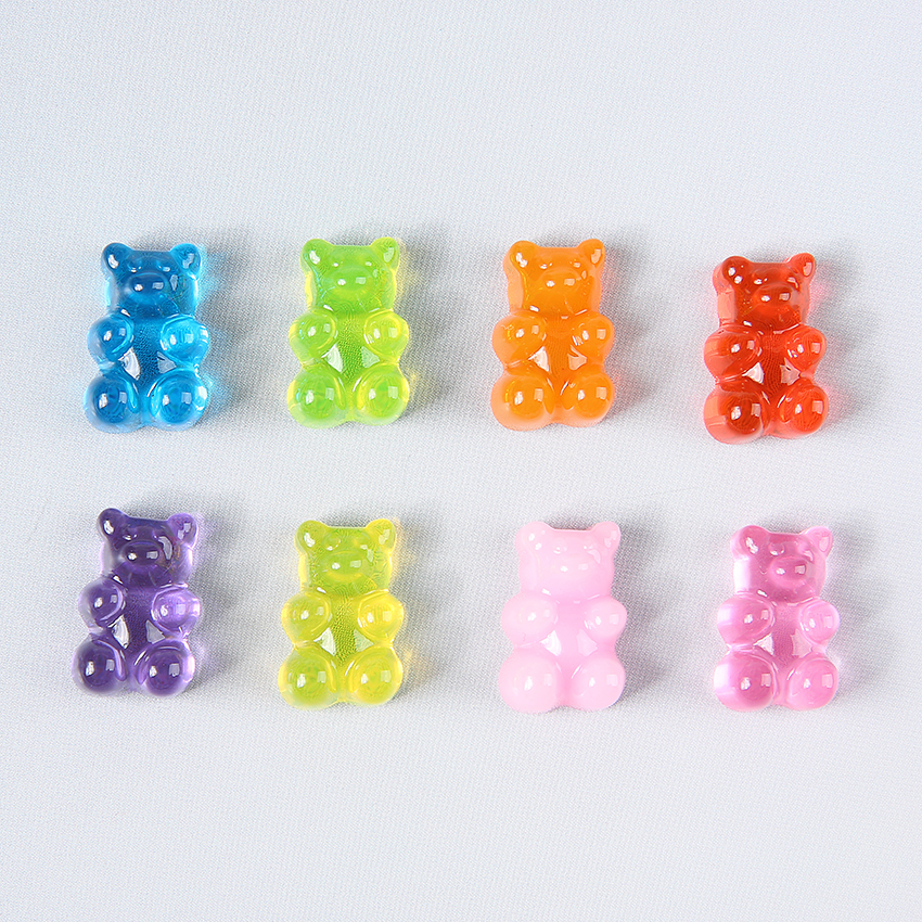 Top SaleGummy Bear Craft Necklace Charms Embellishment-Decoration Scrapbooking Cabochons Candy