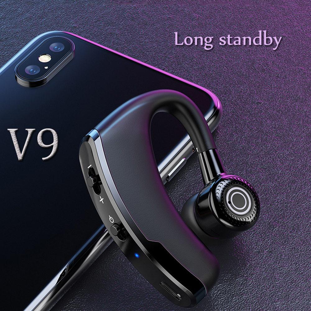 <font><b>V9</b></font> TWS <font><b>Bluetooth</b></font> Earphones Wireless Headphones Handsfree Binaural talk Earbuds Waterproof and sweatproof <font><b>Headsets</b></font> for smartphone image