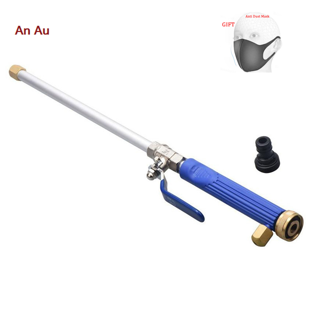 Alloy Wash Tube Hose Car High Pressure Power Water Jet Washer With 2 Spray Tips Auto Maintenance Cleaner Watering Lawn Garden
