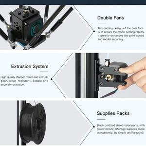 Image 5 - ANYCUBIC Kossel 3D מדפסת ליניארי בתוספת חצי התאסף עם אוטומטי פילוס גדול 3D הדפסת גודל Impressora 3D DIY קיט
