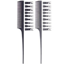 1 Pc Removable Hairdressing Coloring Highlight Comb for Anti static Streaked Hair Care Multifunction Barber Styling Tools Hot