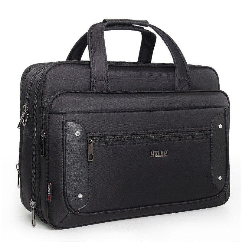 2019 Brand Laptop Bag Business Briefcase Computer Bag 16 17 19 Inch  Handbag Oxford Cloth Large Capacity Shoulder Waterproof Bag