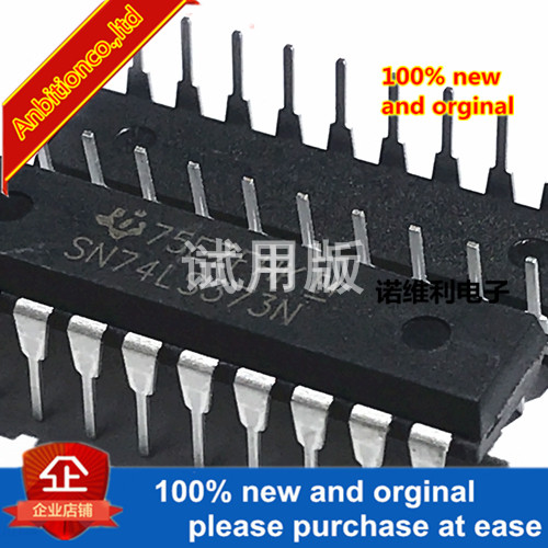 10pcs 100% New Original SN74LS373N 74LS373 Octal Class D Transparent Latch Chip Inline DIP20 In Stock