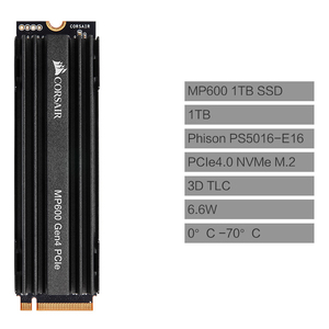 Image 4 - CORSAIR Force Series MP600 SSD NVMe PCIe Gen 4.0 X4 M.2 SSD 1TB 2TB Solid State Drive Storage 4950MB/s M.2 2280 SSD