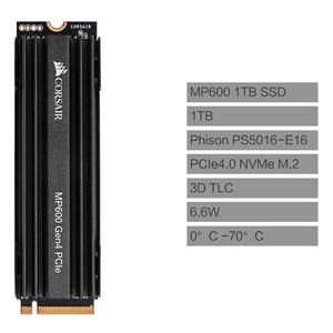 Image 4 - CORSAIR Force Series MP600 SSD NVMe PCIe Gen 4.0X4 M.2 SSD 1TB 2TB Ổ SSD lưu Trữ 4950 MB/giây M.2 2280 SSD