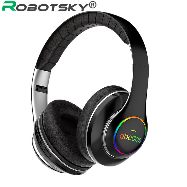 Wireless Bluetooth Headphones Professional Gaming Headset High Fidelity Sound Sports Music Earphone with Mic For Phone Computer