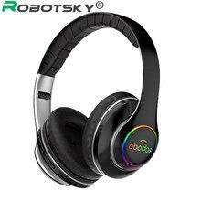 Wireless Bluetooth Kopfhörer Professionelle Gaming Headset High Fidelity Sound Sport Musik Kopfhörer mit Mic Für Telefon Computer