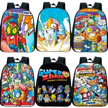 Gorąca sprzedaż Super Zings plecak Super Zings plecak szkolny torba dzieci Cartoon wzór plecak dzieci torby przedszkolne 12 cali tanie tanio Gryan NYLON CN (pochodzenie) Tłoczenie Unisex Miękka Poniżej 20 litr Wnętrza przedziału Miękki uchwyt Plecaki NONE