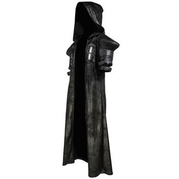 COSTHEME Overwatch Reaper Robe, Officially Licensed, Halloween Cosplay Costume Coat Gabriel Reyes Game Anime Apparel with Spine 2