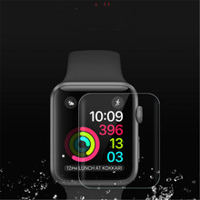 купить Screen Protector Film For Xiaomi Huami Amazfit Bip Youth Watch Transparent Clear Screen Protective Film Waterproof Film 1217#2 дешево