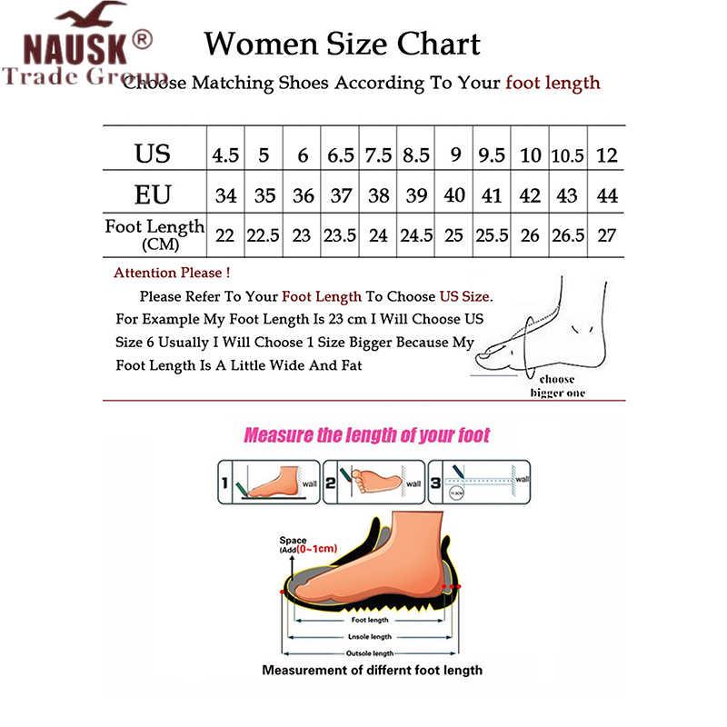 Giày Bốt Nữ Chống Thấm Nước Mùa Đông Giày Nữ Ủng Nền Tảng Giữ Ấm Cổ Chân Mùa Đông Giày Với Bộ Lông Dày Gót Botas Mujer 2019