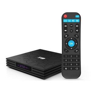 T9 caja de TV Android 8,1 Quad-Core 4,0 TV Box 4K Smart 17,6 HD reproductor de medios UE Reino Unido UE es Plug Android caja