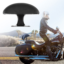 1 Pcs Universal Motorcycle Passenger Seat Rear Back Pad Backrest  For Scooter Etc Black Accessories