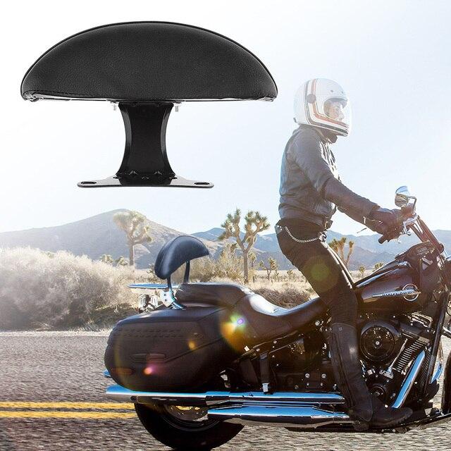Almohadilla trasera para asiento de pasajero de motocicleta almohadilla de respaldo Universal para Honda, motocicleta, Suzuki, Scooter, Atv, Quad, Etc. Accesorios de motocicleta