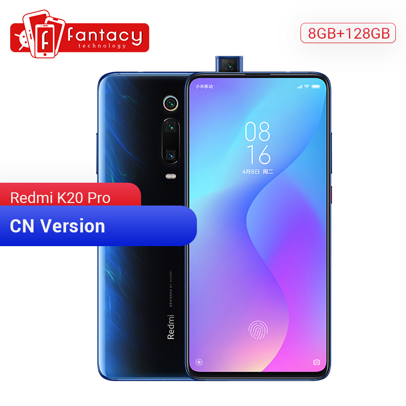 Original Xiaomi Redmi K20 Pro 8GB 128GB Snapdragon 855 Octa Core Smartphone 48MP Triple Camera 6.39