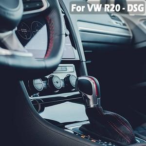Image 5 - Automatic GearShift Knob For Volkswagen VW Golf 6 7 R GTI Passat B7 B8 CC R20 Jetta MK6 GLI ABS Leather Stick Lever Knob Shifter