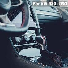 Для VW Golf 6 7 R GTI Passat B7 B8 CC R20 Jetta MK6 GLI на ручка переключения рулевого механизма автомобиля Головка рычага ручка гандбол DSG