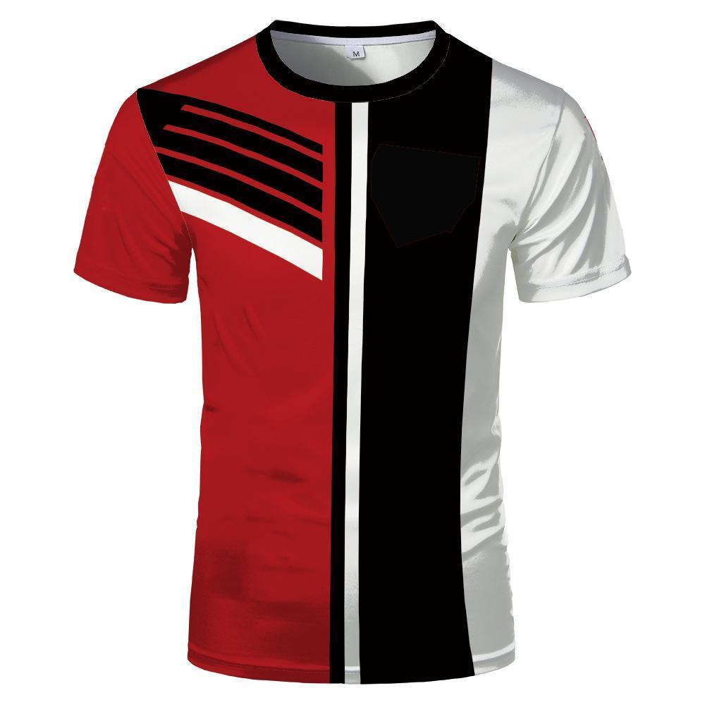 Summer Hot -Sale Metal T -Shirt 3d T Shirt Summer Horror Tshirt 3d Men Fashion T -Shirts Street Hip -Hop Style Tops &Tees