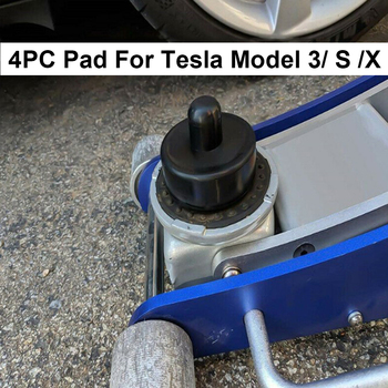 For Tesla Model 3 S X Rubber Jack Lift Point Pad Adapter Lifting Tools 4pcs