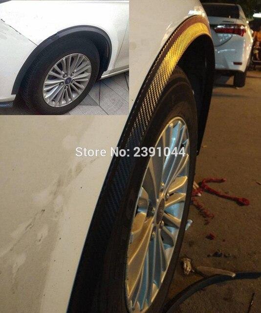 Protection des sourcils pour Citroen DS3 | 2pc117cmCar, garde-boue, protection des sourcils, lèvre, bordure de roue