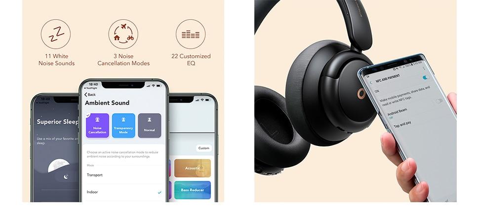 Anker Soundcore Life Q30 Hybrid Active Noise Cancelling Headphones 6