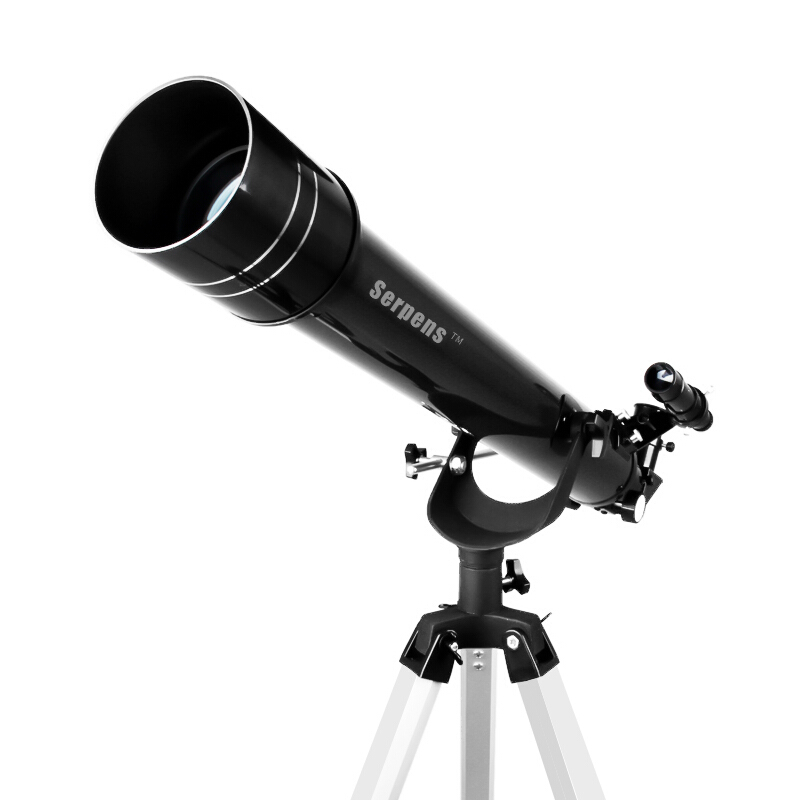 Купить с кэшбэком Serpens professional telescope child refraction with tripod monocular zoom telescope student entry gift 60 caliber